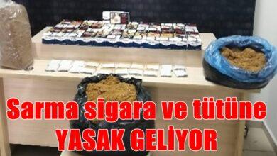 Photo of Sarma Sigara 1 Temmuz'da Yasaklanıyor
