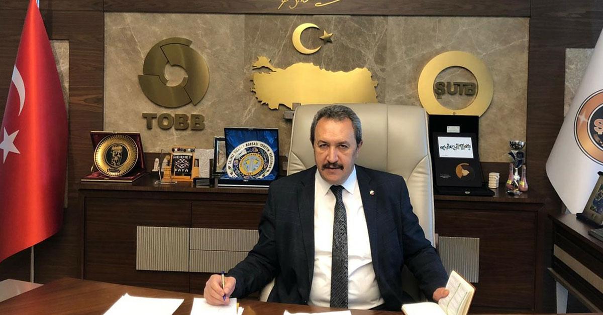 ŞTUB Başkan Mehmet Kaya
