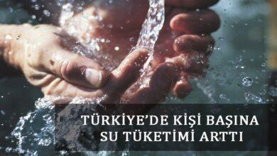 Photo of Türkiye'de Kişi Başına Su Tüketimi Arttı