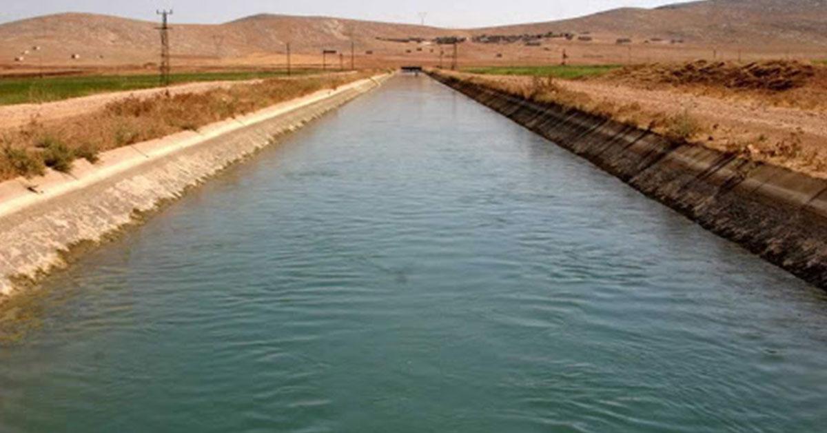 Şanlıurfa Sulama Kanalı