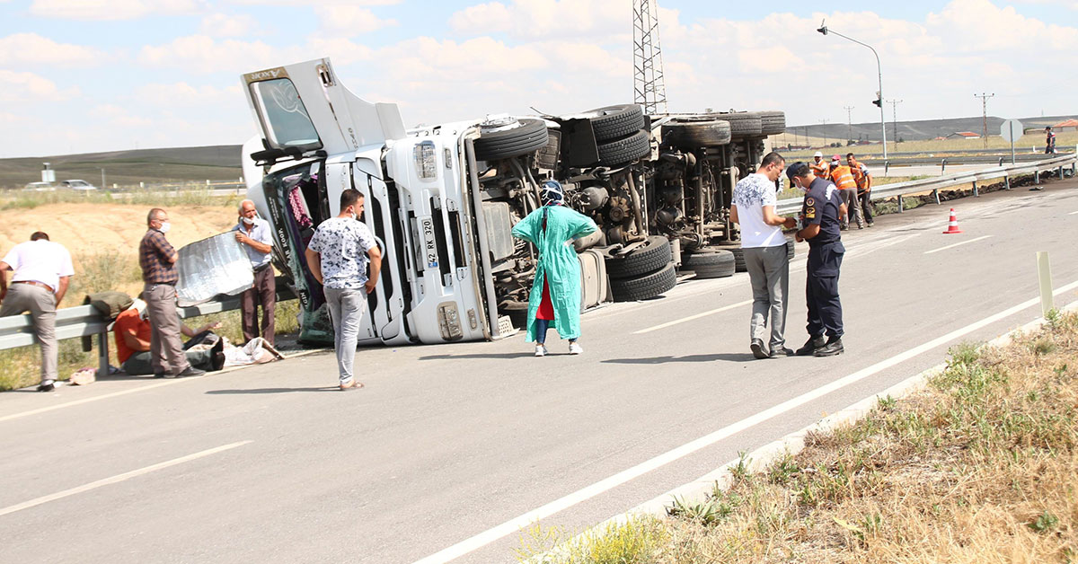 Urfalı Tarım İşçileri Kaza