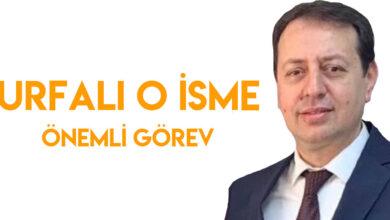 Photo of Urfalı O İsme Önemli Görev
