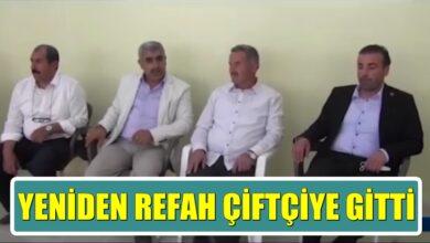 Photo of Yeniden Refah Partisi Dolu Mağduru Çiftçiyi Ziyaret Etti