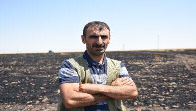 Photo of Siverek'te Çiftçinin 50 Dönümlük Arazisi Küle Döndü