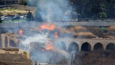 Photo of Tarihi Millet Hanı'nda yangın