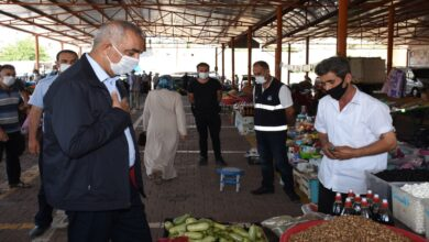 Photo of Başkan Bayık Semt Pazarı Esnafını Ziyaret Etti