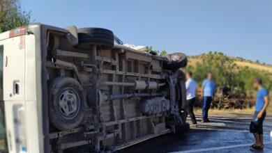 Photo of Urfa'da Minibüs Devrildi