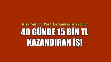 Photo of Tek Seferde 15 Bin Kazandıran İş!
