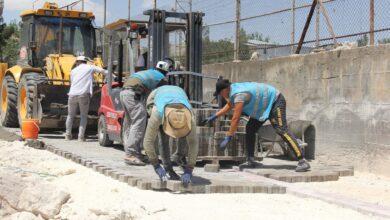 Photo of Eyyübiye'de Yol Yapım Çalışmalarını Sürdürüyor