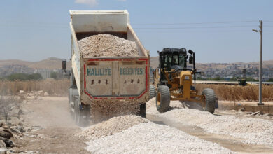 Photo of Haliliye Belediyesi, Yol Yapım Çalışmalarına Devam Ediyor