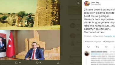 Photo of 8 Yaşında Harran'a Turist Olarak Gelmişti, Şimdi Kaymakamı Oldu