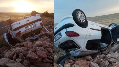 Photo of Şanlıurfa'da otomobil devrildi: 6 yaralı