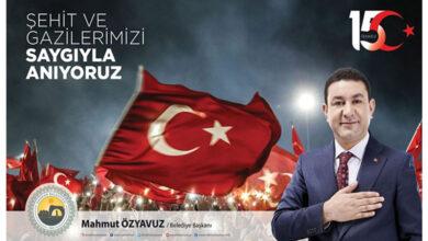 Photo of Başkan Özyavuz: 15 Temmuz Örnek Bir Kahramanlık Destanıdır