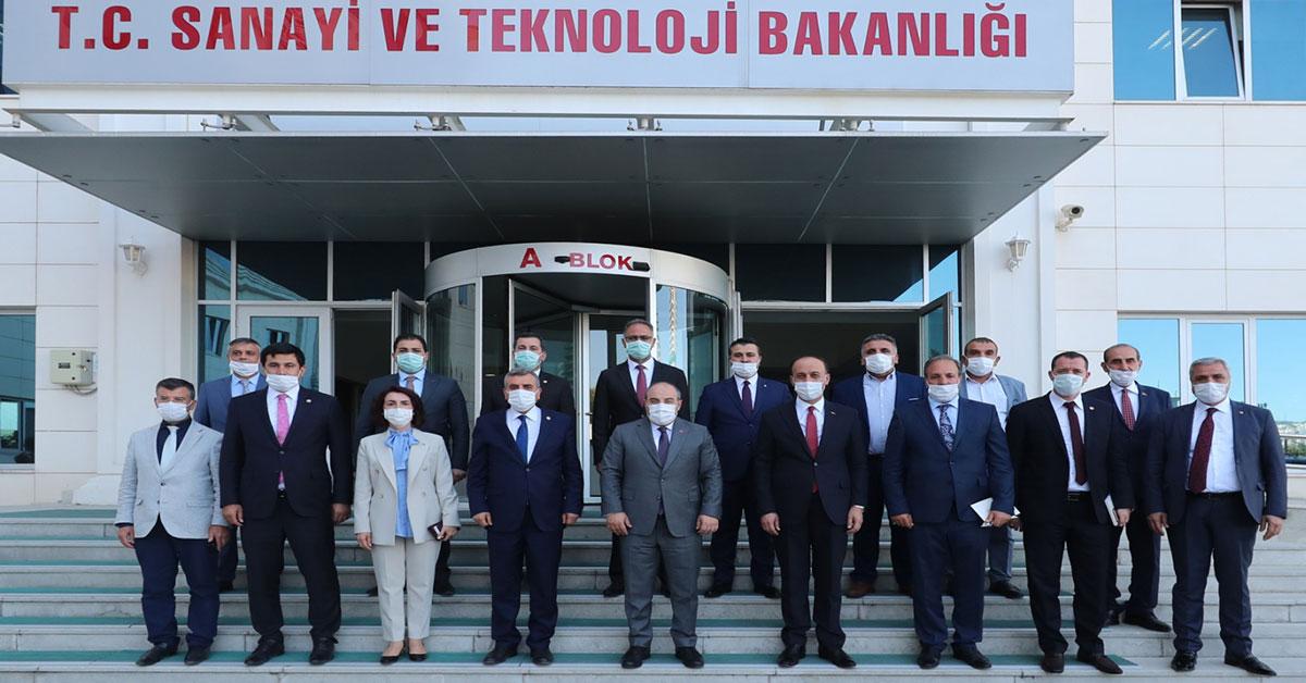 Sanayi Bakanlığı Şanlıurfa