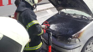 Photo of Şanlıurfa'da seyir halindeki otomobil alev aldı