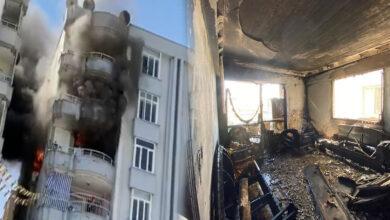 Photo of Şanlıurfa'da Klima Motoru Alev Aldı