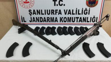 Photo of Şanlıurfa'da 2 adet uzun namlulu silah ele geçirildi