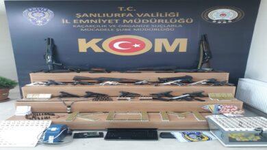 Photo of Şanlıurfa merkezli suç örgütüne dev operasyon