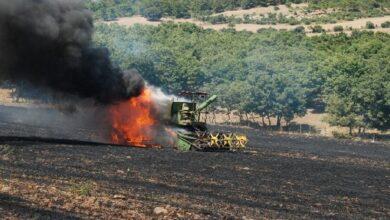 Photo of Hasat bekleyen 200 dönüm arpa ve buğday kül oldu