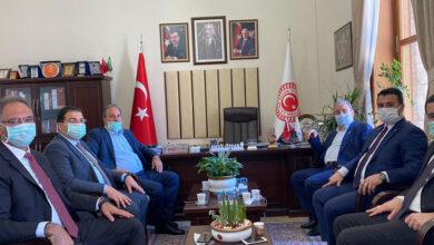 Photo of Belediye Başkanları Urfa'da Yapılacak Projeleri İstişare Etmek İçin Ankara'da Biraraya Geldiler