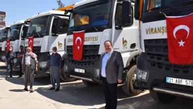 Photo of Viranşehir Belediyesi Araç Filosunu Yeniledi