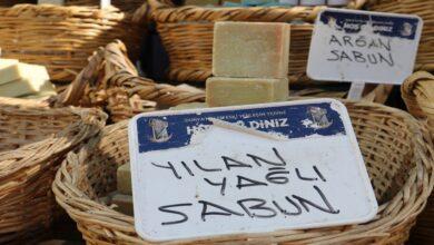 Photo of Şanlıurfa'da yılan yağlı sabun ilgi odağı oldu