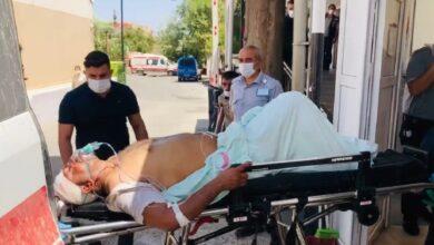 Photo of Patlamada yaralananlar Ceylanpınar'a getiriliyor