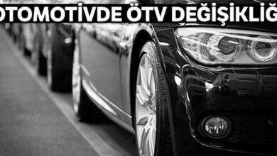 Photo of Otomotivde ÖTV değişikliği