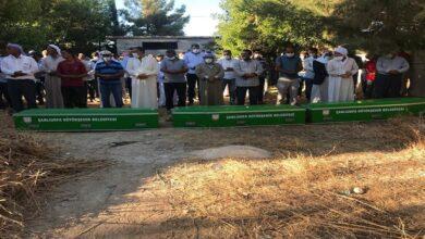 Photo of Urfa'da Üç kardeşin cenazesi yan yana defnedildi