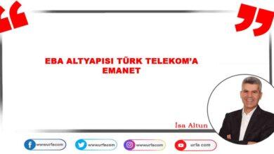 Photo of EBA altyapısı Türk Telekom'a emanet