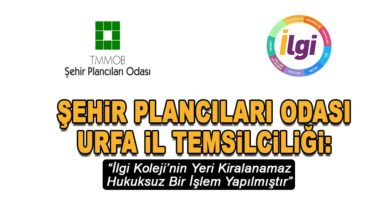Photo of Urfa Temsilciliği, İlgi Koleji'nin Yerini Analiz Etti