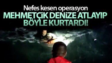 Photo of Mehmetçik denize atlayıp böyle kurtardı