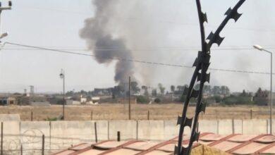 Photo of Sınırın öbür tarafında son bir haftada ikinci yangın