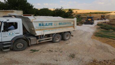 Photo of Haliliye'de yol yapım çalışması