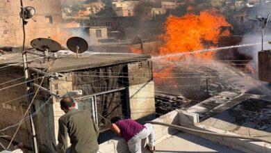 Photo of Urfa'da Vatandaşlar alevlerin içine dalıp yangını söndürmeye çalıştı