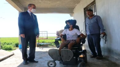 Photo of Akülü tekerlekli sandalye hayali gerçekleşti