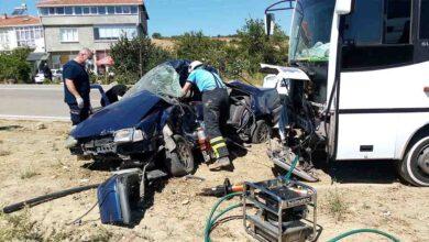 Photo of Feci kaza yaşlı çifti hayattan kopardı