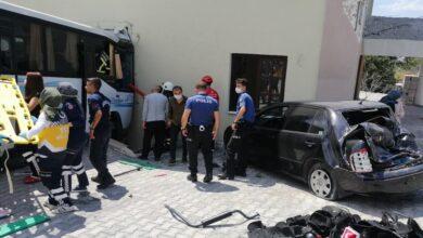 Photo of Midibüs kaza yaptı: çok sayıda yaralı var
