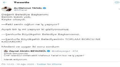 """Photo of CHP' Vekil """"Kızım Yok"""" Dedi"""