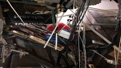Photo of Hastane Çöktü! 3 Kişi Yaralandı