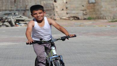 Photo of 10 yaşındaki çocuğa bisiklet sürprizi