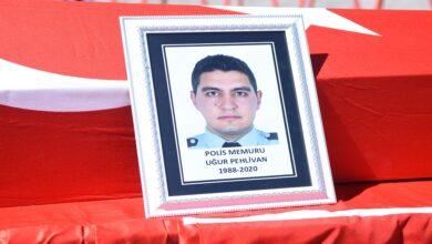 Photo of Siverek'te şehit polis memuru için tören düzenlendi