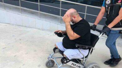 Photo of Tekerlekli sandalyeli uyuşturucu satıcısı