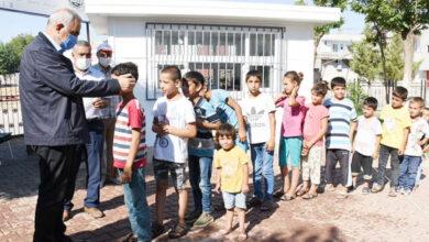 Photo of Başkan Bayık, Çocuklarla Parkta Buluştu