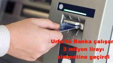Photo of Urfa'da Banka çalışanı 3 milyon lirayı zimmetine geçirdi