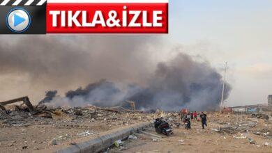 Photo of Beyrut'ta havai fişek deposunda şiddetli patlama