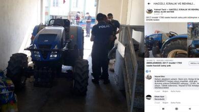 Photo of Traktörünü Çaldığı Şebekeyi Çökerttiler