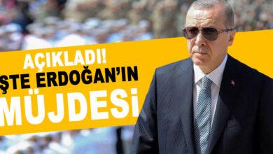 Photo of Erdoğan, Müjdeyi Açıkladı! İşte Detaylar