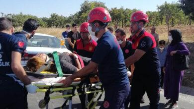 Photo of Şanlıufa'da 2 otomobil çarpıştı: 4 yaralı