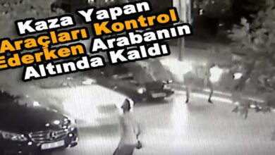 Photo of Kaza Yapan Araçları Kontrol Ederken Arabanın Altında Kaldı